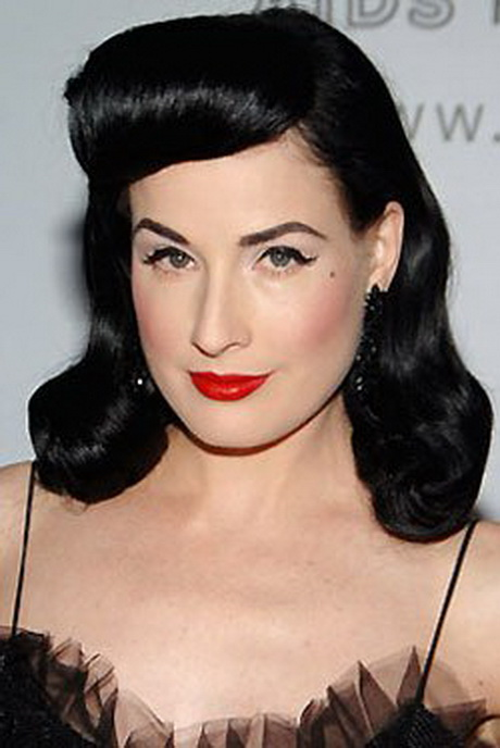 1940s Hairstyles: Retro Hairstyles 40s Hair 1940u0027s Rockabilly U2026