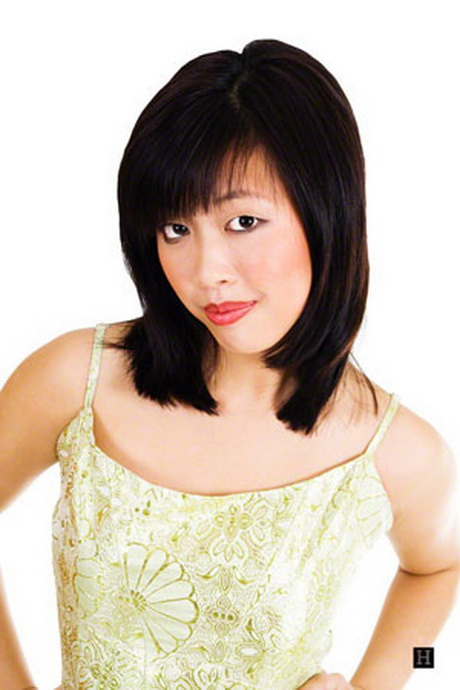 Asian Medium Haircuts 74