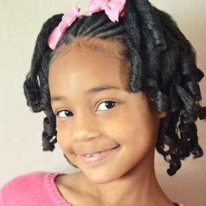 Seems very Cute girl hairstyles for black kids visible, not