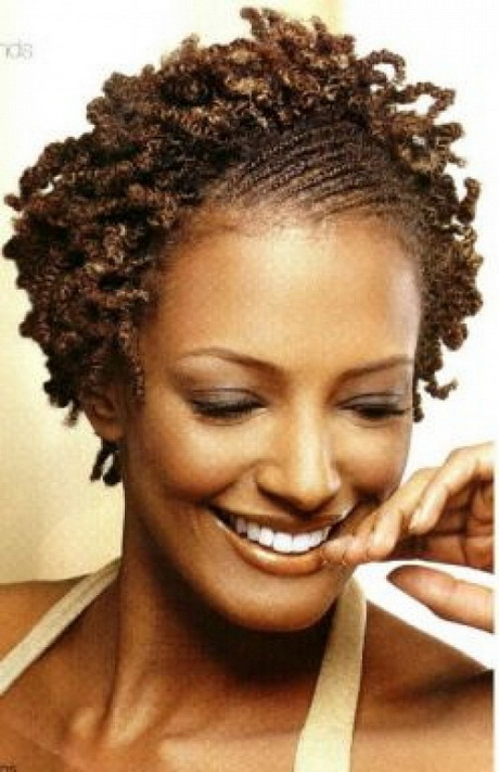 Black hairstyles for natural short hair