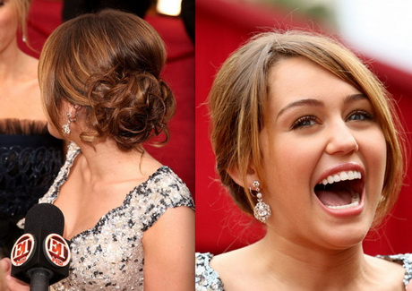 Miley Cyrus Prom Hairstyle Ideas 2009 Celebrity Hairstyles