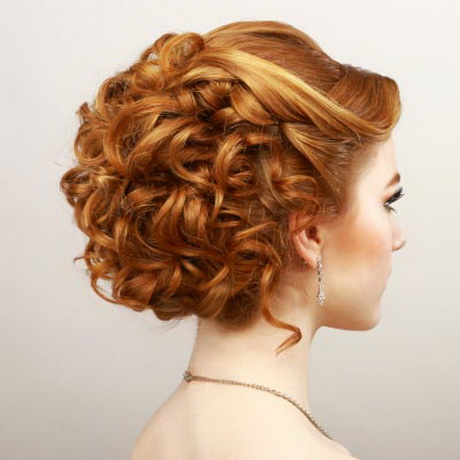 Curly Updo Prom Hairstyles