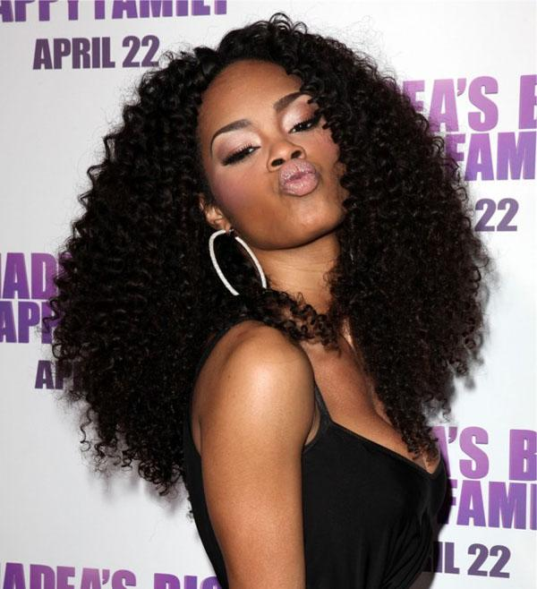 Curly Weave Hairstyles