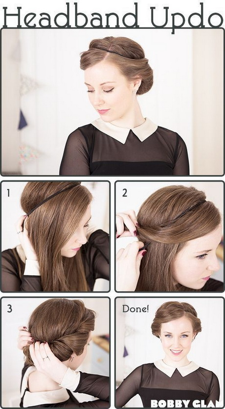 Cute Hairstyles Tutorials For Short Hair Short Hair Fashions - Easy hairstyle for short hair tutorial