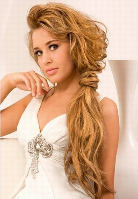 Easy hairstyles for thick long hair