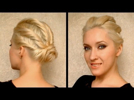 Autumn / Fall Party Hairstyles For Long Hair Tutorial Easy Cute Prom Updo  Wedding Hairdo 2011 U2013 Hair Video U2013 Fanpop