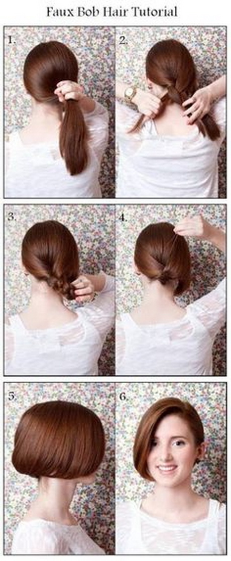 Easy Quick Hairstyles For Short Hair - Easy hairstyle for short hair tutorial