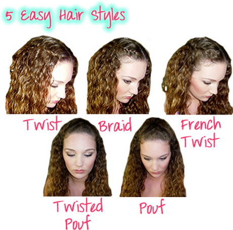 Easy School Hairstyles On Pinterest | Quick School Hairstyles U2026