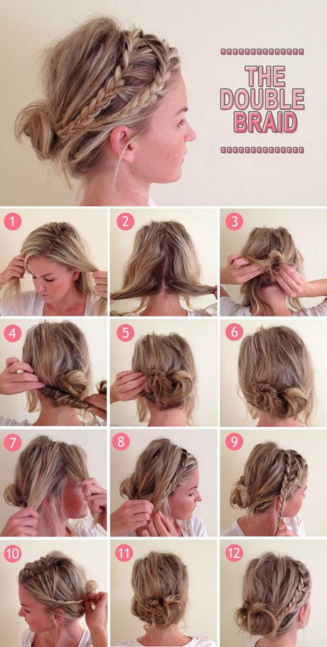 Fast and easy hairstyles for short hair