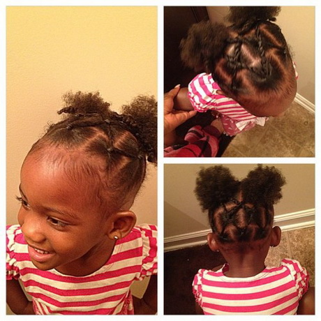 Hairs Styles Girls Hairstyles Nature Natural Hair Little Baby Kids Beauty Black