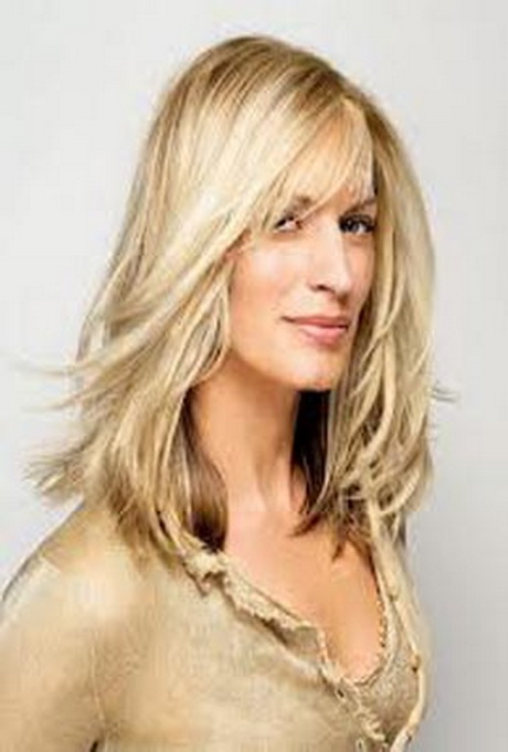 Hairstyles for older women with long hair - photo#25