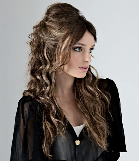 Half Updo Hairstyles For Long Hair