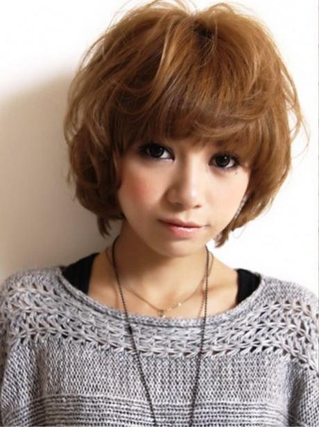 Japanese Short Hairstyle - Bob hairstyle japan