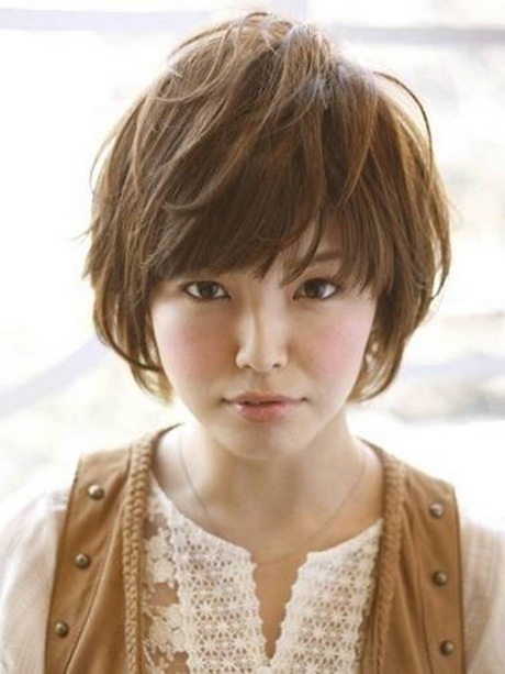 Pleasant Japanese Short Hairstyles Hairstyles For Women Draintrainus