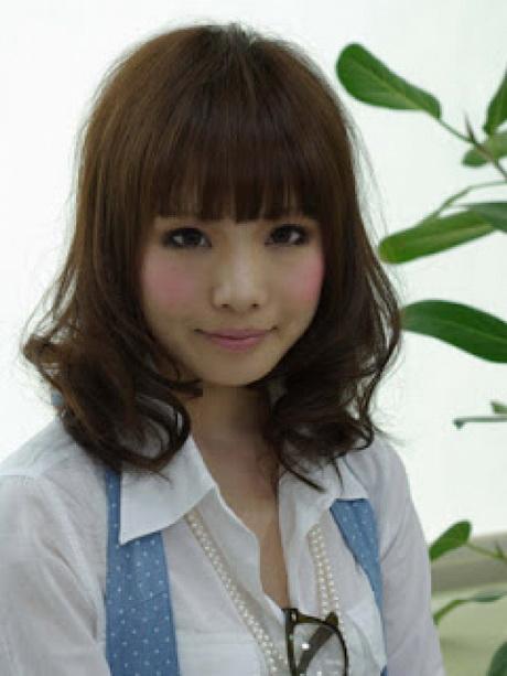 Korean Medium Haircut