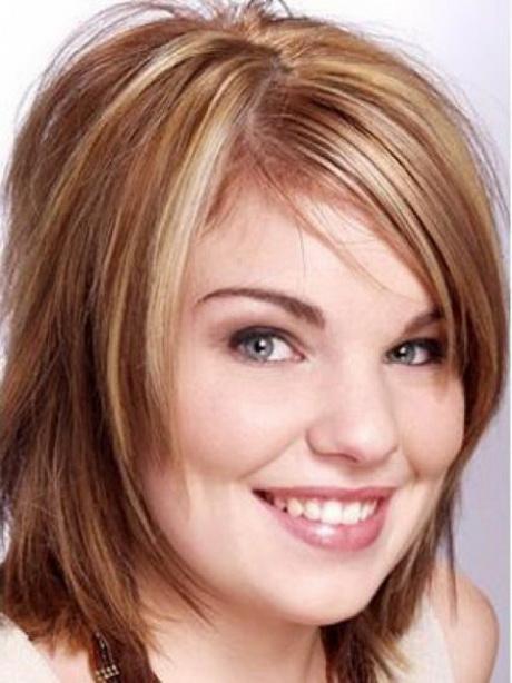 Прическа на круглое лицо тонкие волосы