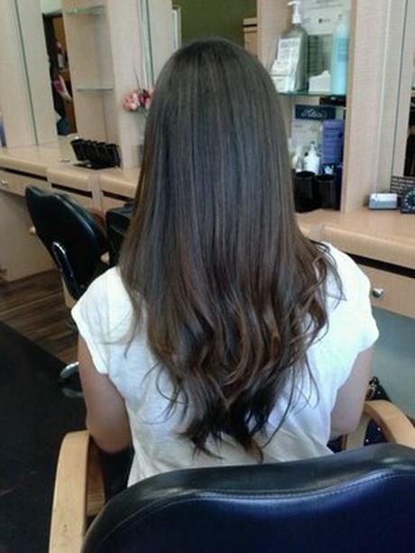 Long Layered Haircuts Back View