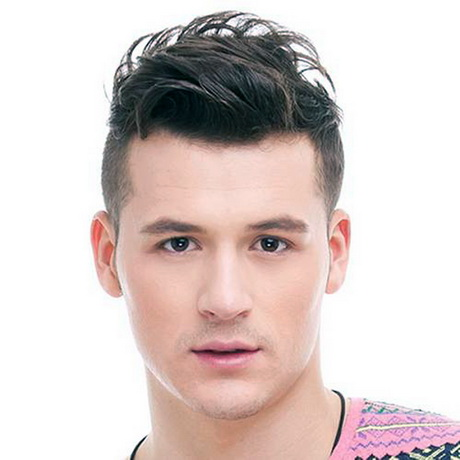 Guys Hairstyles Short Sides Long Top