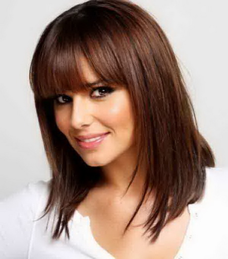 Pretty Long Straight Hairstyle Bob Layered Haircuts Of Fine Hair