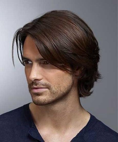 Mens medium length haircuts