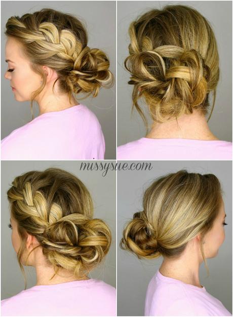 Messy Bun Prom Hairstyles