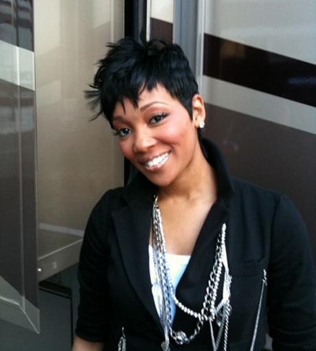 Monica Short Hairstyles