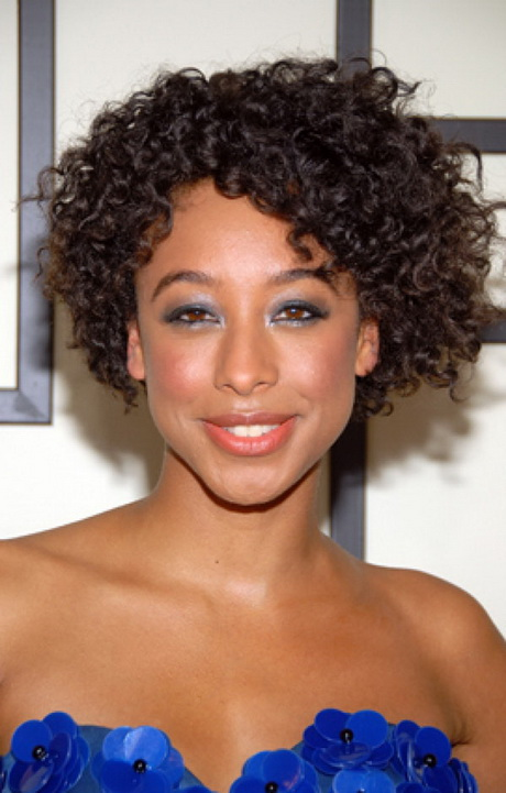 Natural short curly hairstyles for black women