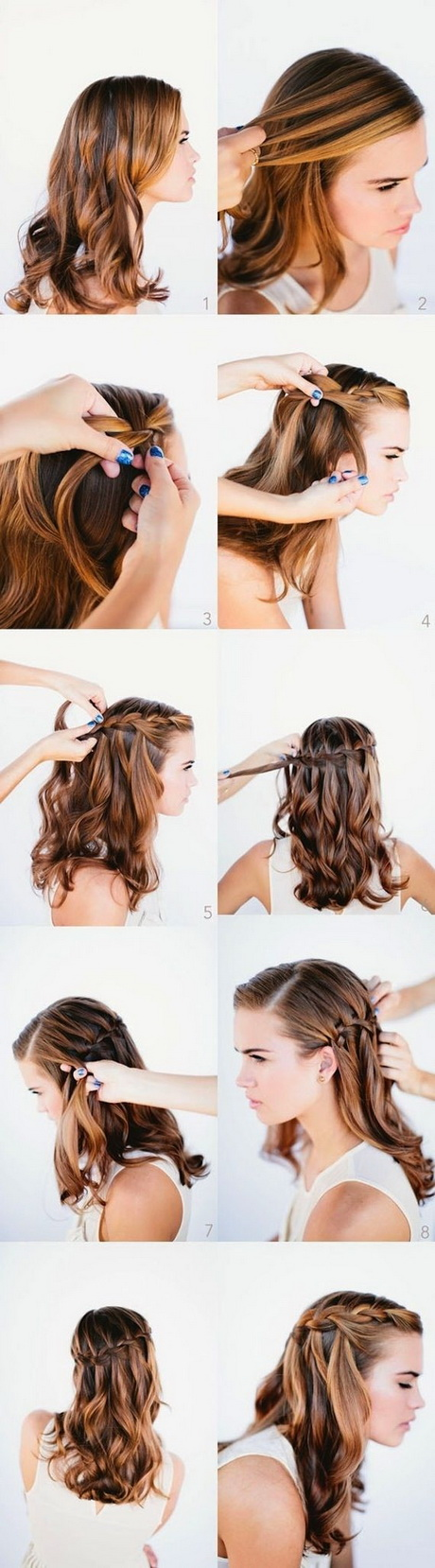 10 Best Waterfall Braids: Hairstyle Ideas For Long Hair U2013 PoPular U2026