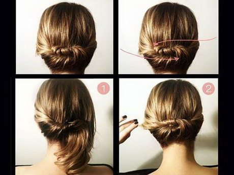 Put up hairstyles for short hair easy updos for short hair to do yourself do it yourself hairstyles solutioingenieria Images