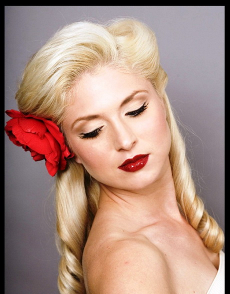 Rockabilly hairstyles for long hair
