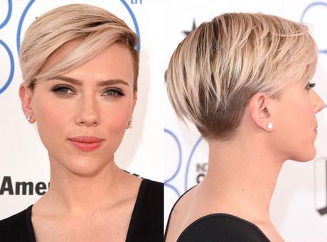 Scarlett Johansson Haircut