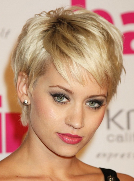 Short haircut round face 2015 short hairstyles for round faces photo winobraniefo Images