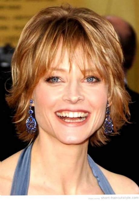 Short Haircuts For Older Women With Round Faces - Hairstyles for round face over 60