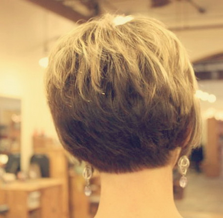 Short Haircuts Front And Back View