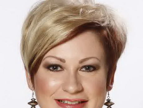 Surprising Short Hairstyles For Chubby Women Hairstyles For Women Draintrainus