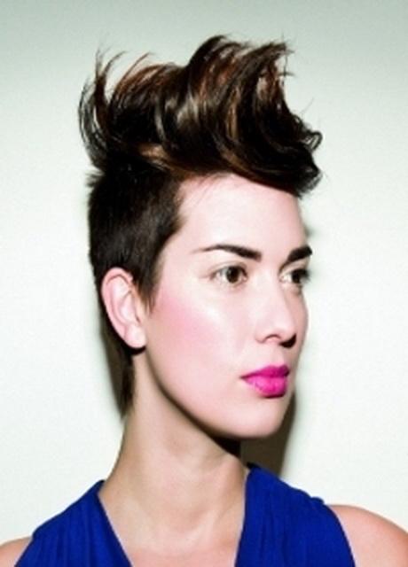 Short lesbian haircuts