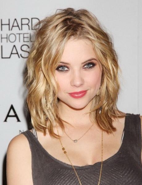 Short medium hairstyle