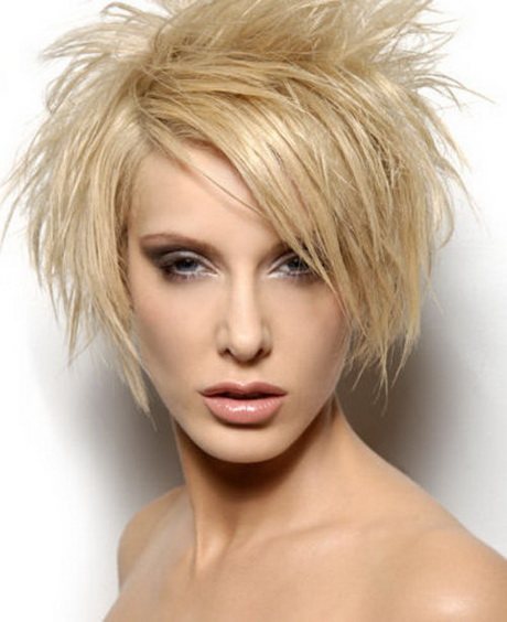 Short spiky haircuts