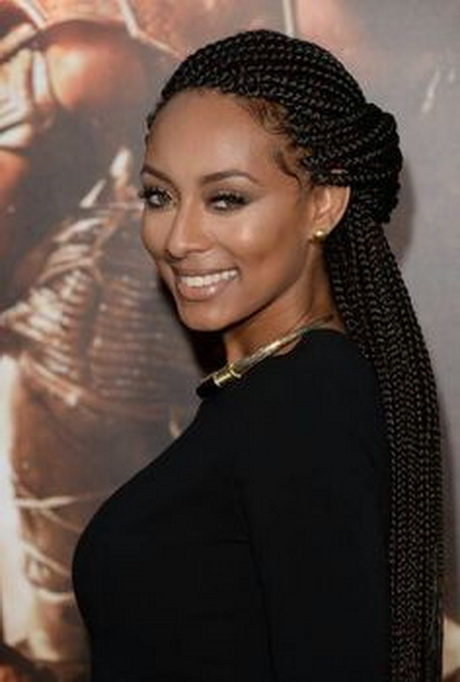 Single braids hairstyles