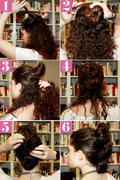 Step By Step Curly Hairstyles
