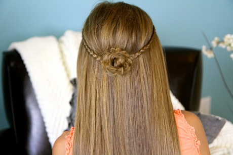 Super easy hairstyles for long hair