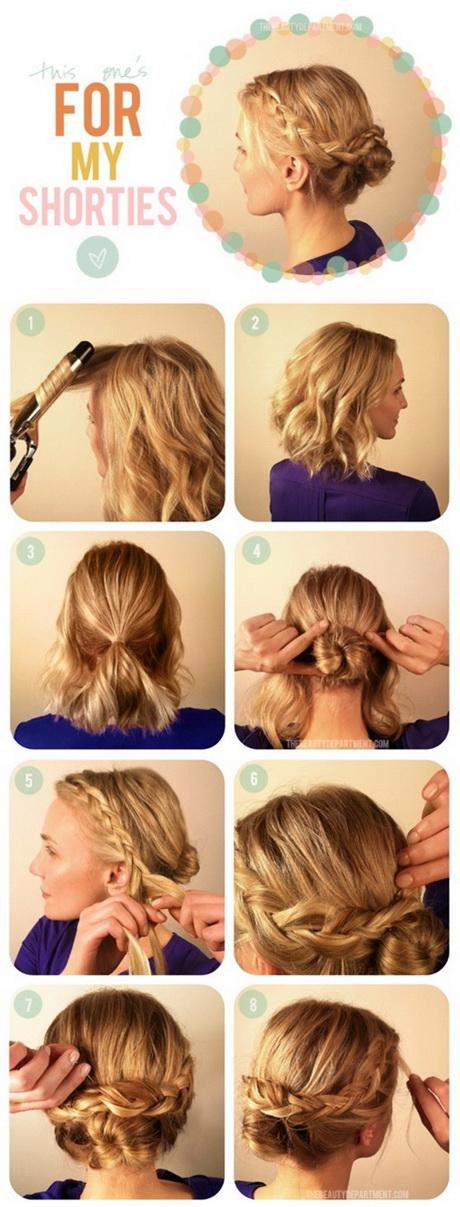 Updo Hairstyles Tutorial