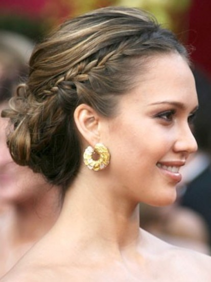 Updos 15 glamorous wedding updos for 2015 pretty designs junglespirit Choice Image