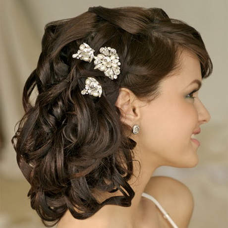Wedding Hairstyles For Medium Length Hair Images