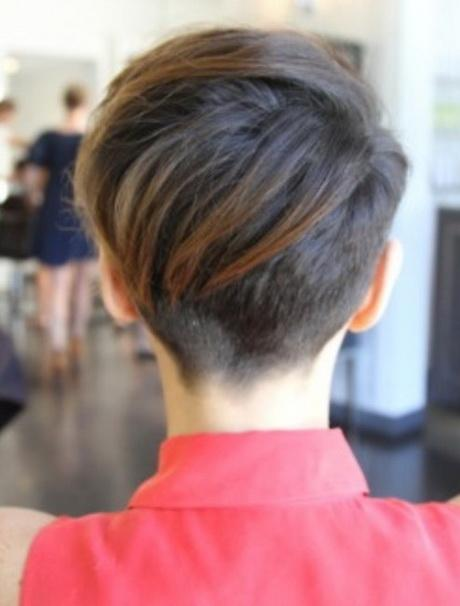 30 Chic Pixie Haircuts Back View Of Short Hair