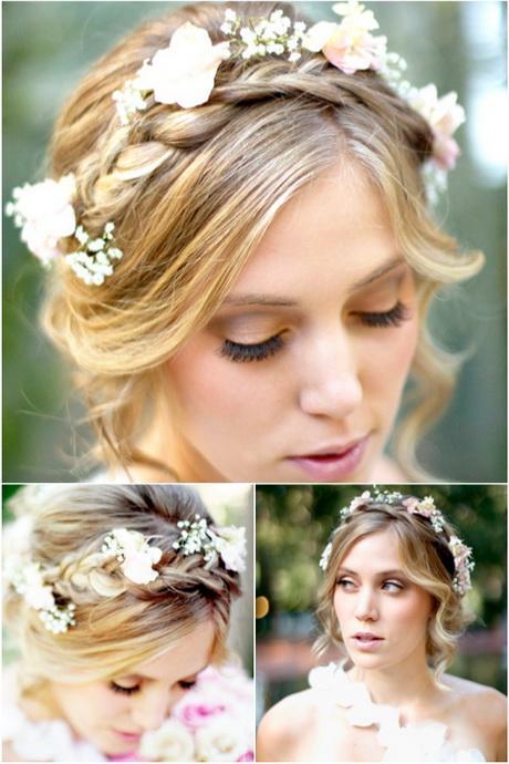 A Romantic Bohemian Wedding Hairstyle U2013 MODwedding