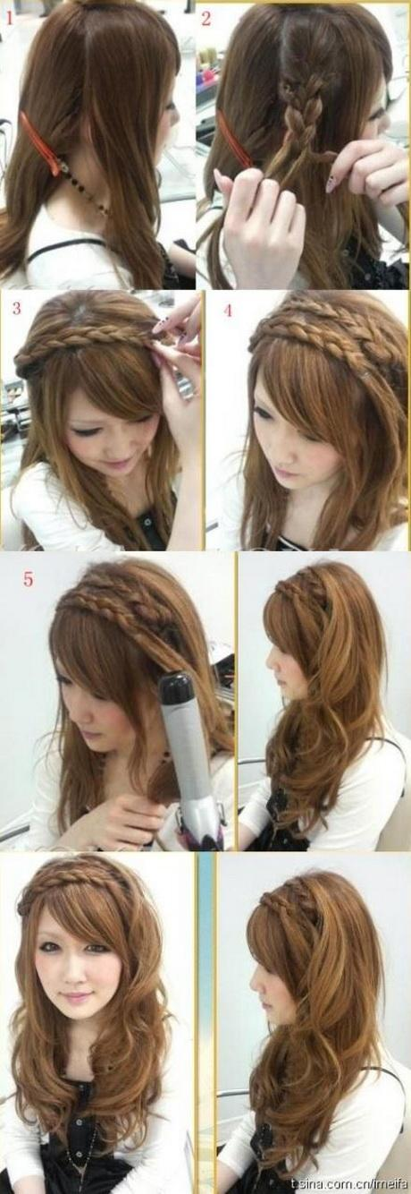 hair styling step by step braid hairstyles step by step 6985