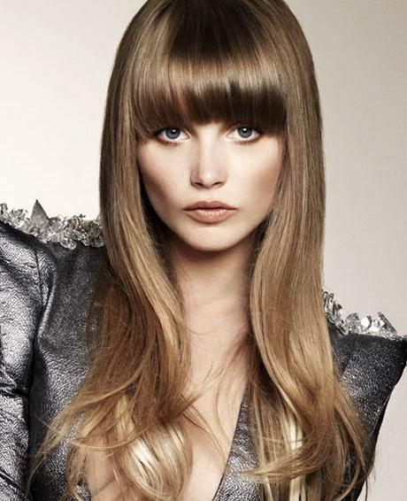 2017 Hairstyles With Long Bangs 2016 New Haircuts And Hair Colors From Special Com