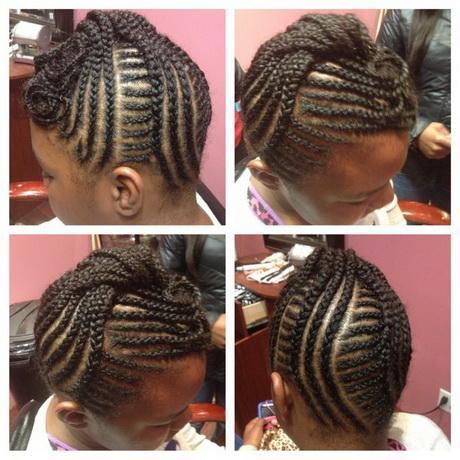 Kid braid hairstyles