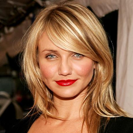 Layered Haircuts With Side Swept Bangs